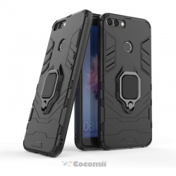Huawei P Smart 2020 Panther Armor Case Black