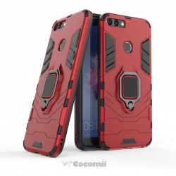 Huawei P Smart 2020 Panther Armor Case Red