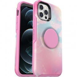 iPhone 12 / 12 Pro Otter + Pop Symmetry Series Case Daydreamer Pink Graphic