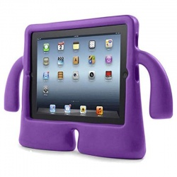 iPad Mini 1/2/3/4/5 Case for Kids Drop-proof Shockproof Cover Case with Kickstand Kids Case | Purple