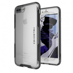 iPhone 8/7 Plus Ghostek Cloak 3 Series Cover Black