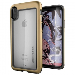 iPhone X Ghostek Atomic Slim  Gold