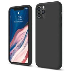 Iphone 11 Pro Max  Silicon Case |  Black