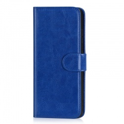 Samsung A71 Wallet Case Blue