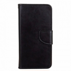 HTC 530 PU Leather Wallet Case Black