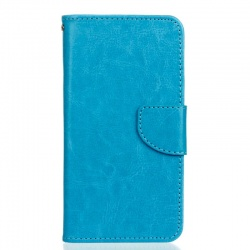 HTC 530 PU Leather Wallet Case Blue