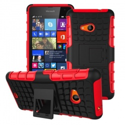 Nokia Lumia 535 Tyre Defender Red
