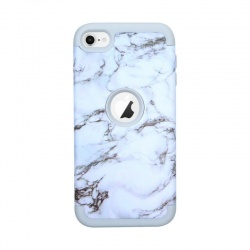 iPod Touch (5th/6th Generation) Hybrid Protector Marble Pattern Cover White/Grey