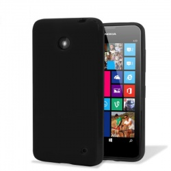 Nokia Lumia 630 Silicon Case Black
