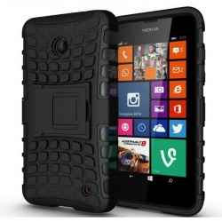 Nokia Lumia 630 Tyre Defender Black