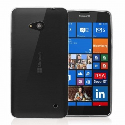 Nokia Lumia 640 Silicon Case Clear