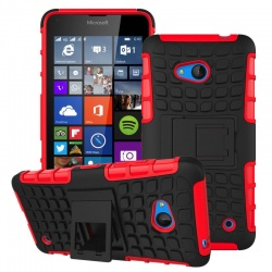 Nokia Lumia 640 Tyre Defender Red