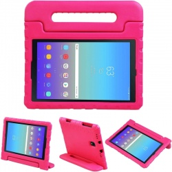 Samsung Tab A 10.5 (T590) Case for Kids Carryon Handle Pink