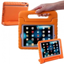 iPad Mini 1/2/3/4/5 Case for Kids Shockproof Cover with Handle |Orange