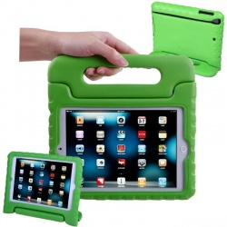 iPad Mini 1/2/3/4/5 Case for Kids Shockproof Cover with Handle |Green