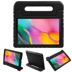 Samsung Galaxy Tab A Case 10.1(2019) SM-T510 Case for Kids Cover with Stand Black