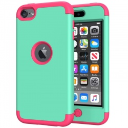 iPod Touch (5th/6th Generation)  Hybrid Protector Cover Mint/Pink