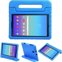 Samsung Tab A 10.5 (T590) Case for Kids Carryon Handle Blue