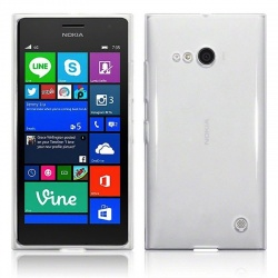 Nokia Lumia 730 Silicon Case Clear