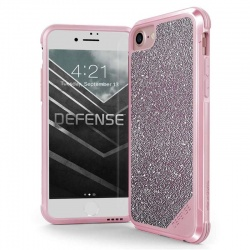 iPhone 6/6S  Case X-Doria Lux Series - Pink Glitter