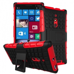 Nokia Lumia 830 Tyre Defender Red
