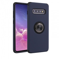 Samsung Galaxy S10 Magnetic Ring Holder Cover Blue