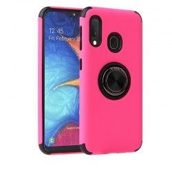 huawei P Smart 2019  Magnetic Ring Holder Cover Hotpink