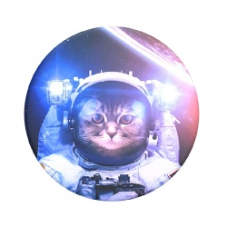 Catstronaut  Pop Socket