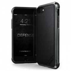 iPhone 7 / iPhone 8 Case X-Doria Defence LUX Series- BlackLeather