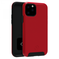 iPhone 11 / Xr Nimbus Cirrus2 case Crimson