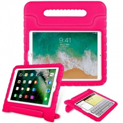 iPad Mini 1/2/3/4/5 Case for Kids Shockproof Cover with Handle |Hot Pink