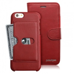 iPhone 6/6s Prodigee Wallegee Red