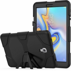 Samsung Galaxy Tab A Case 10.5 (SM-T590) Shockproof Cover With Kickstand | Black