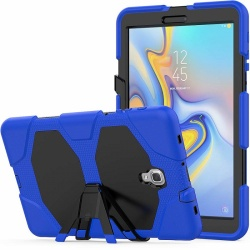 Samsung Galaxy Tab A Case 10.5 (SM-T590) Shockproof Cover With Kickstand | Blue