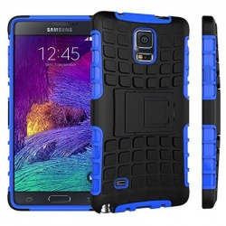Samsung Galaxy Note 4 Tyre Defender Blue