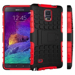 Samsung Galaxy Note 4 Tyre Defender Red