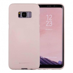 Samsung Galaxy S8 Soft Feeling Case  Pinksand