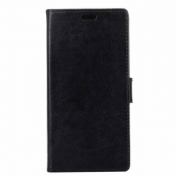 Samsung Galaxy Xcover 4 PU Leather Wallet Case Black