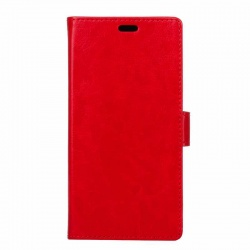 Samsung Galaxy Xcover 4 PU Leather Wallet Case Red