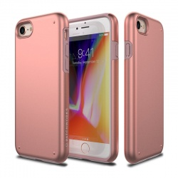 iPhone 7 / iPhone 8 Case Patchworks Chroma RoseGold/Black