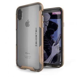 iPhone X Case Ghostek Cloak 3 Series Case Gold