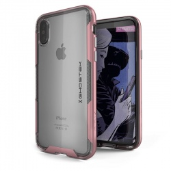 iPhone X Case Ghostek Cloak 3 Series Case RoseGold