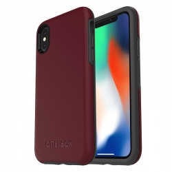 iPhone X Case OtterBox Symmetry Series  Case Burgundy