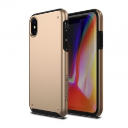 iPhone X Case Patchwork Chroma Series Case Gold