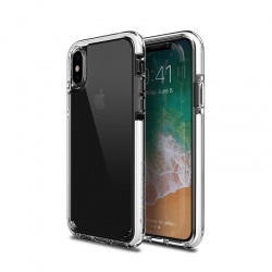 iPhone X Case Patchwork Lumina Ex Series  Clear