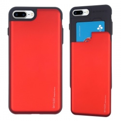 iPhone 7/8 Plus Sky Slide Bumper Case Red