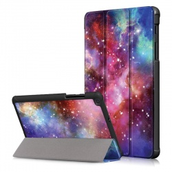 SAMSUNG TAB A 8.0 (2019) SM-T290 - Smart Lightweight Stand Case |Outer Space