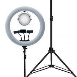 Tripod Stand With JM520A/B Mirror 3 Mode Ring Light