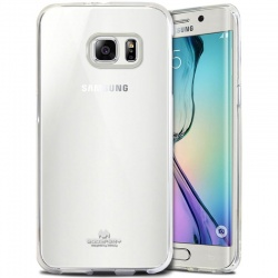 Samsung Galaxy S6 Edge  Jelly Case Clear
