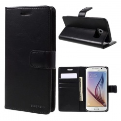 Samsung Galaxy S6 Bluemoon  Wallet Case Black